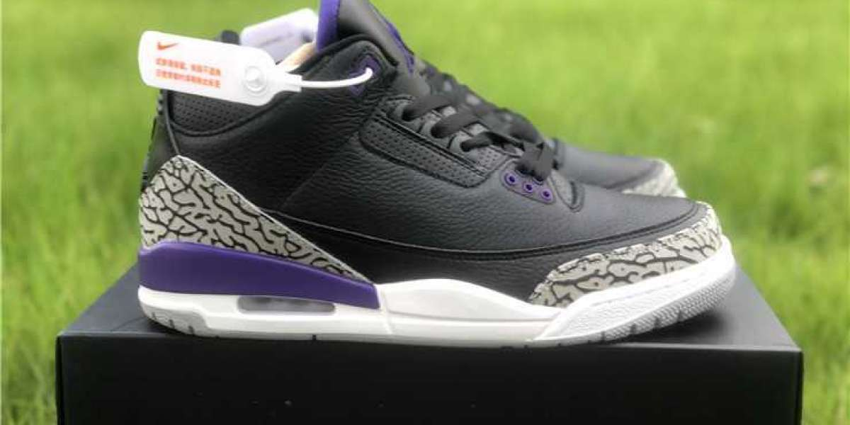Buy the 2020 Air Jordan 3 Court Purple CT8532-050