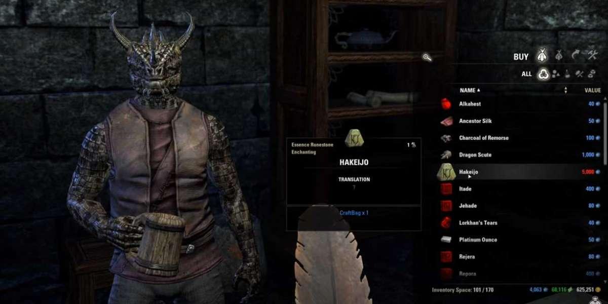 Easy Way to Farming Elder Scrolls Online Gold