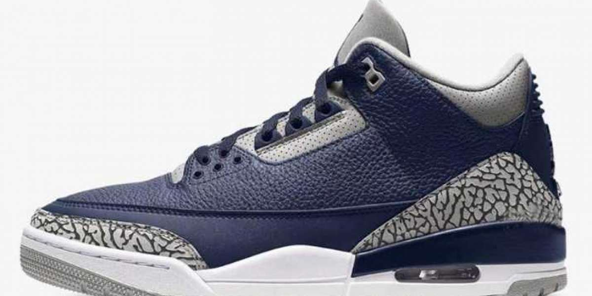 Air Jordan 3'Midnight Navy' will be released in March 2021
