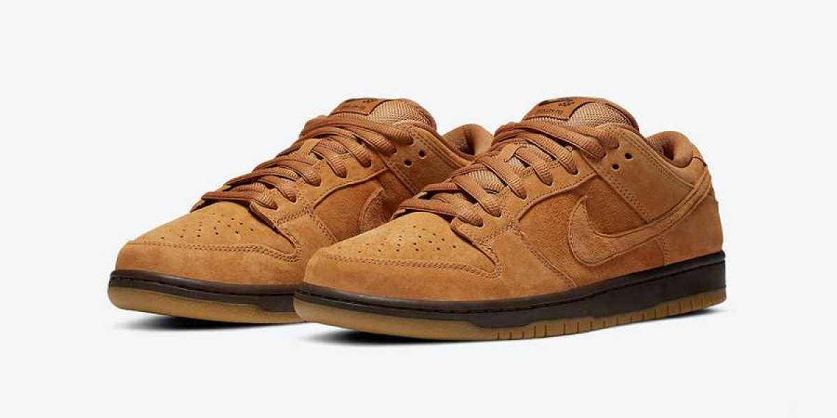 "Nike SB Dunk Low ""Wheat Mocha"" BQ6817-204 Released In December"