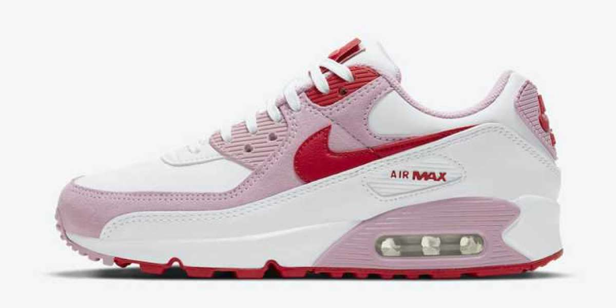 "Nike Air Max 90 ""Valentine's Day"" DD8029-100 Will Be Released In February Next Year"