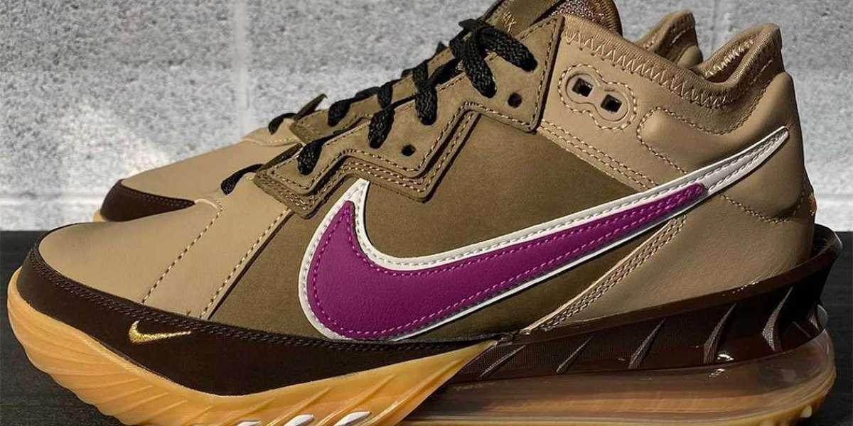 "New 2021 Nike LeBron 18 Low ""Viotech"" Basketball Shoes"