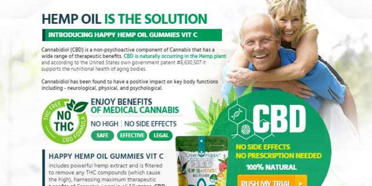 Green Happy CBD Gummies-reviews-price-buy-benefits- Reduces Anxiety & Stress