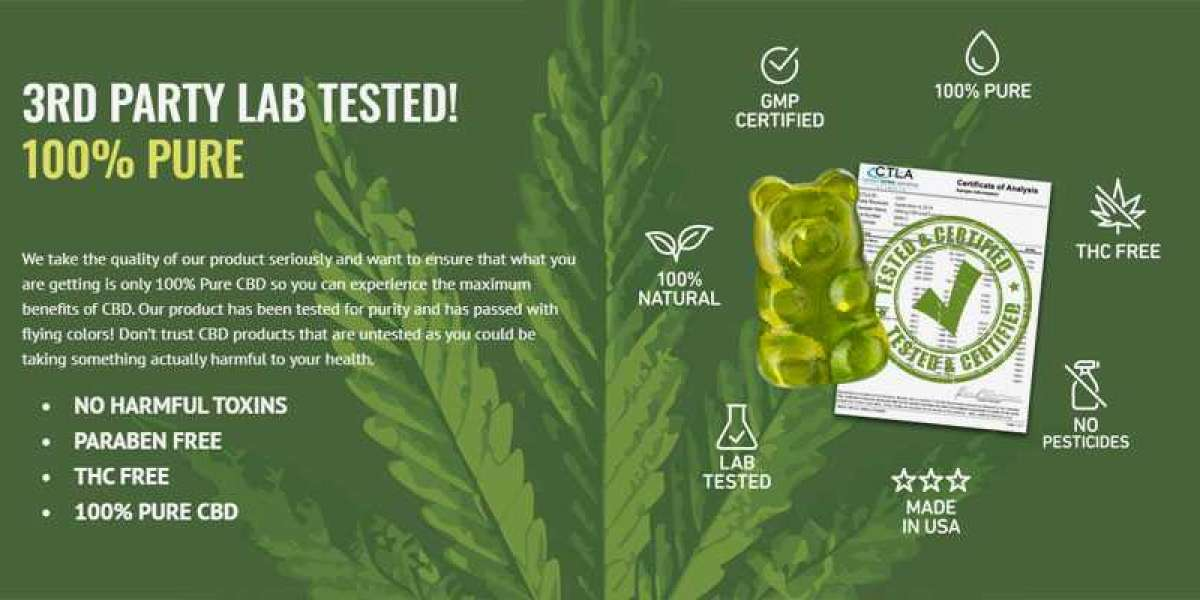 What is the Specialty of Pure Strength CBD Gummies?