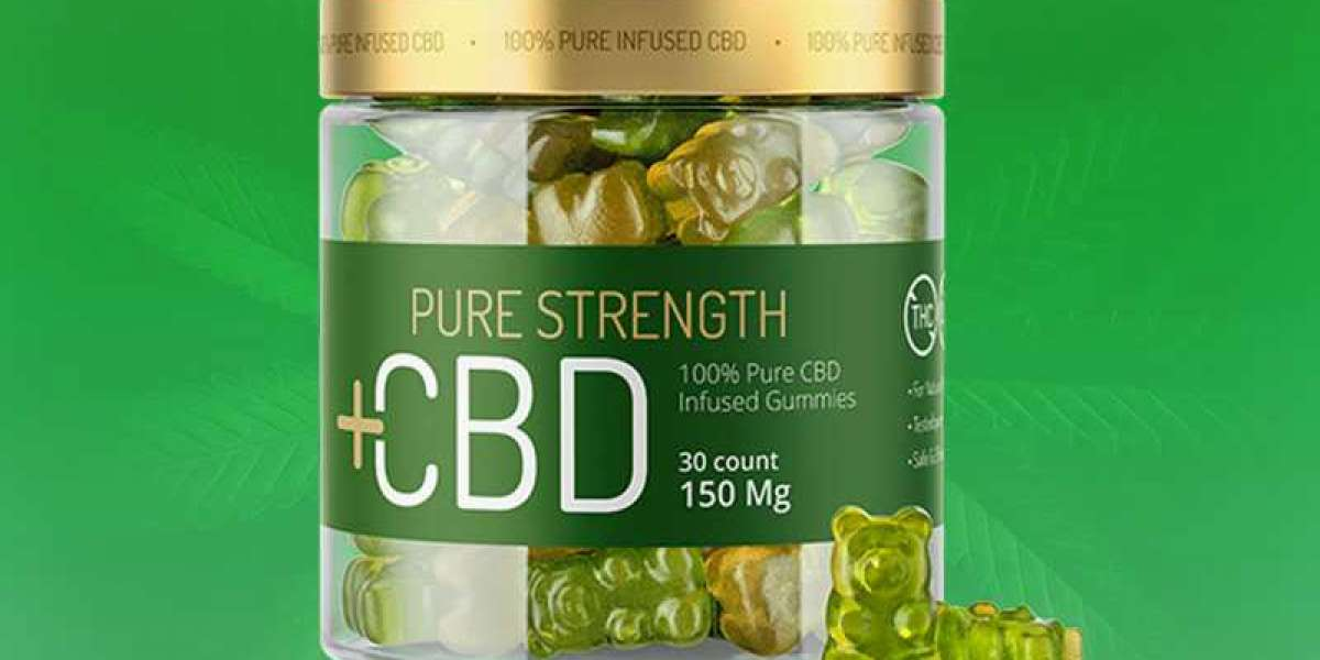 Is Pure Strength CBD Gummies Legit?And Why Choose Pure Strength CBD Gummies?